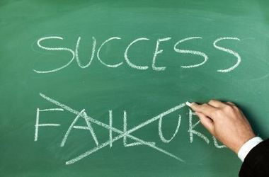 failure versus success You usually pass failure on the way to success mickey rooney over the years  as i have coached clients the concept of 'sabotage' often.