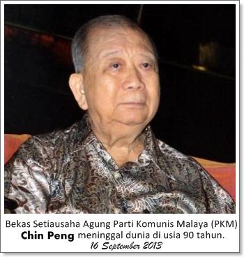 chin peng meninggal dunia , siapa chin peng , chin peng parti komunis malaya , chin peng tidak dibenarkan balik ke malaysia , chin peng meninggal di usia 90 tahun , chin peng meninggal di bangkok , chin peng meninggal pada hari malaysia , chin peng meninggal pada 16 september 2013