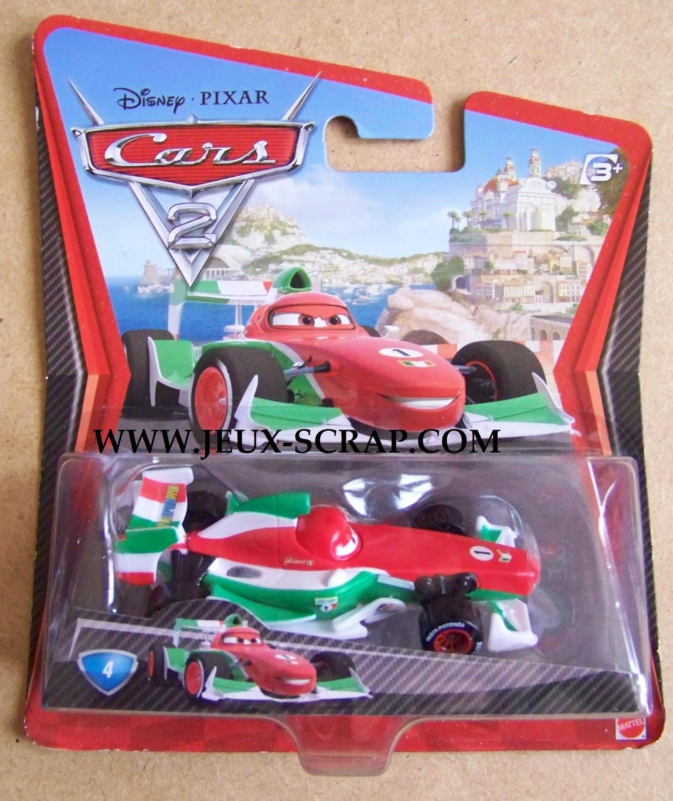 Blog boutique jouets jeux scrap voitures cars 2 disney pixar - Voiture cars disney ...