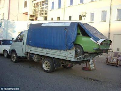 Images comiques et insolites Transport - Marchandise v27