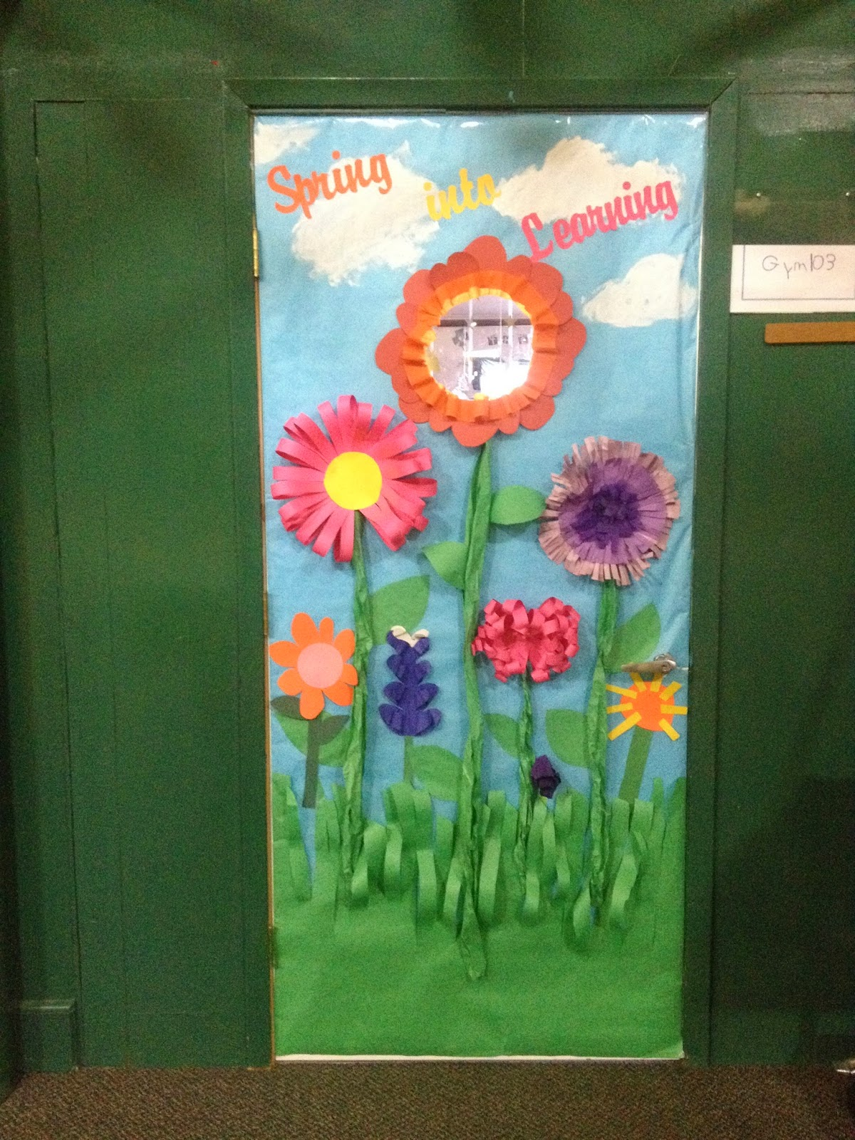 Michelle 39 s crazy life comments - Spring door decorations for school ...