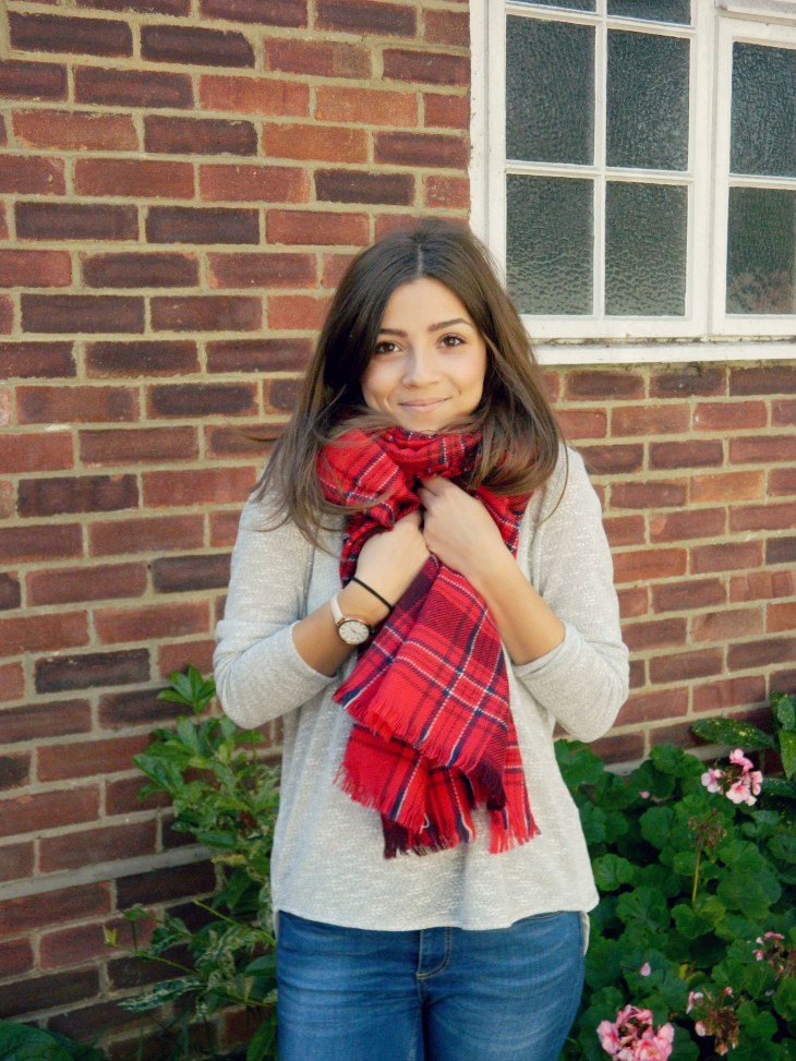 Love From Lisa Fashion The Tartan Scarf