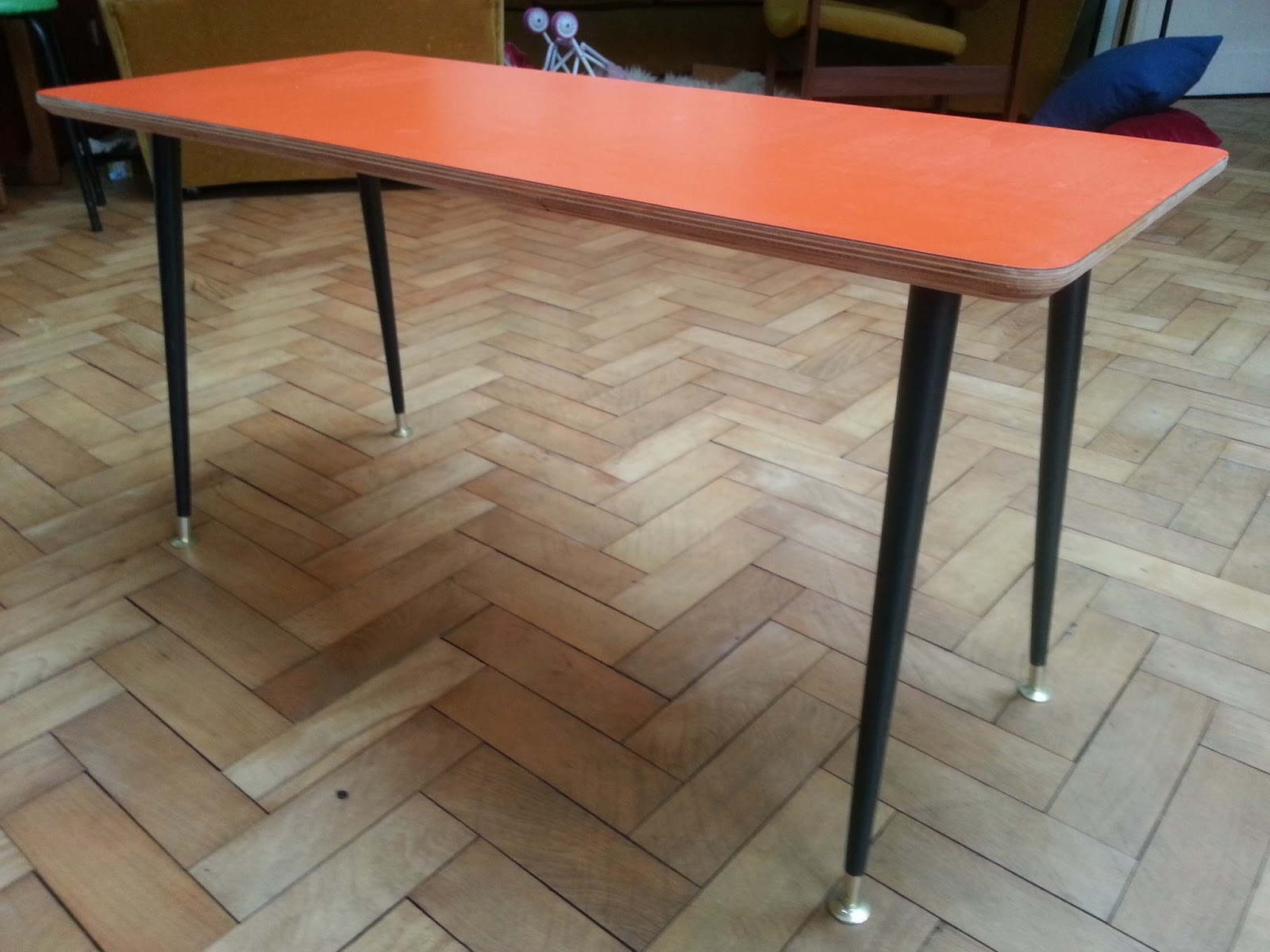 1950s coffee side table revamp for Revamp coffee table