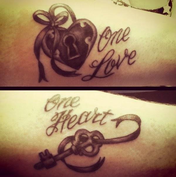 tatuajes de llave y candado
