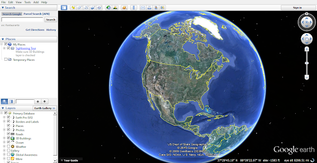 Google Earth Pro 7.1.1.1580 Full With Activator screenshots 1