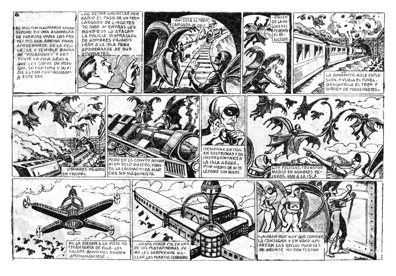 Tebeos bajo sospecha lbum premio proa 1944 for La isla interior torrent
