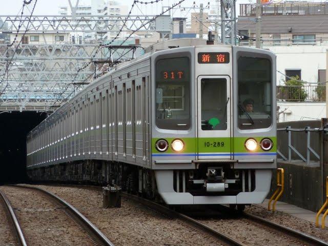 都営新宿線 各停 新宿行き4 10-000形280F