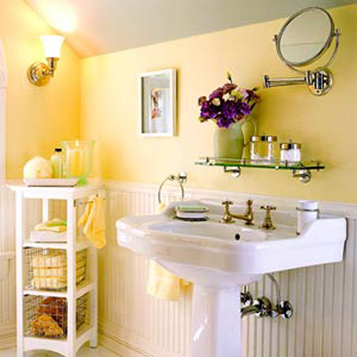 Bathroom Decorating Guide : Coisas da k?tia banheiro com decora??o simples e barata