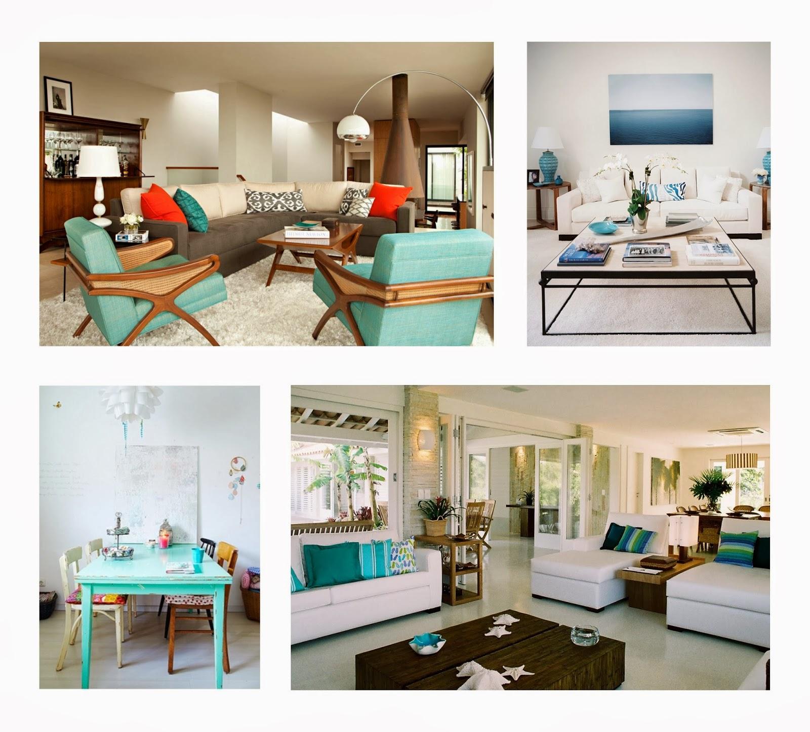 #694124 Sustentabilidade Em Cores: Azul turquesa na decoração 1600x1447 píxeis em Cor Verde Para Sala De Estar