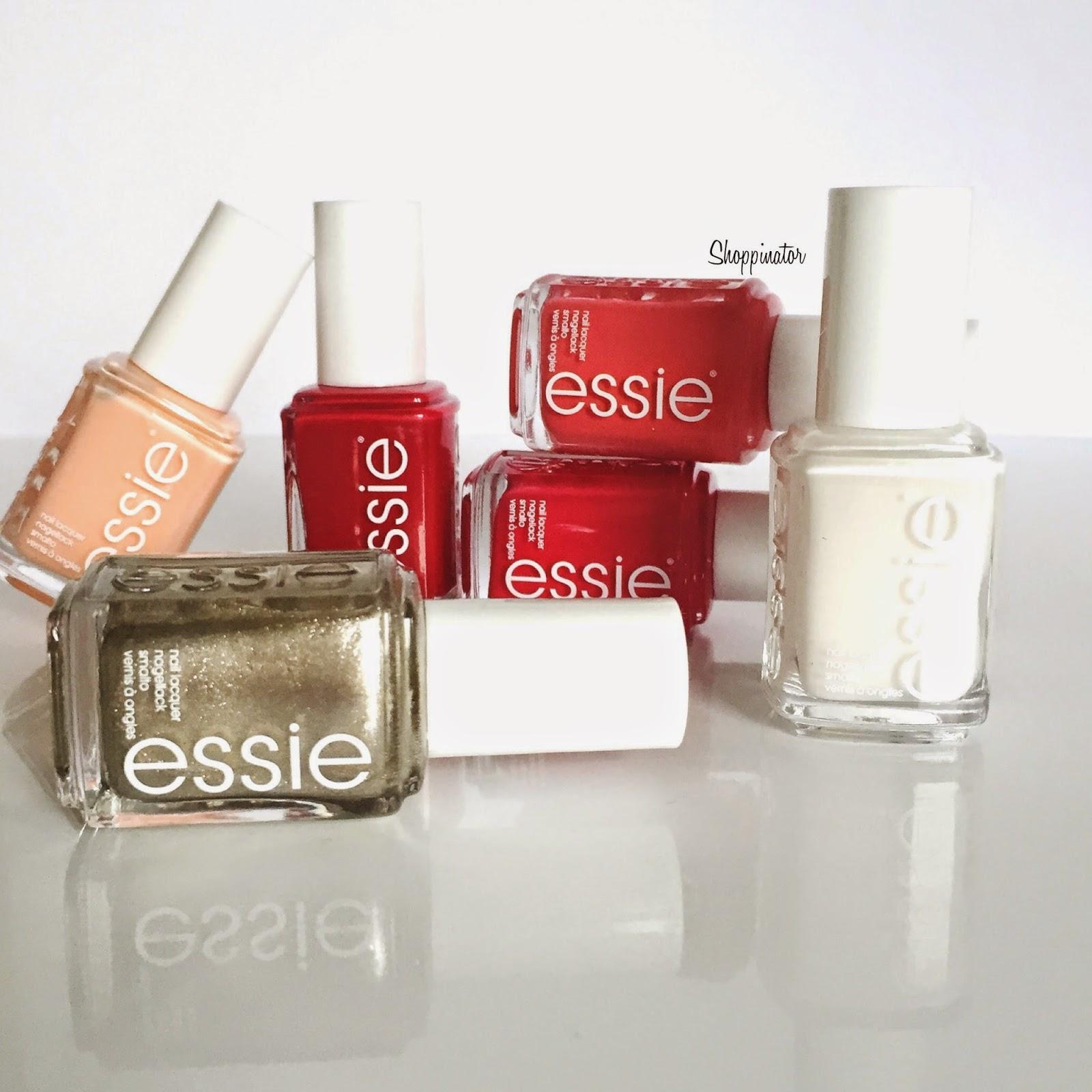 Essie – 'Jiggle hi Jiggle low' Christmas LE – Swatches