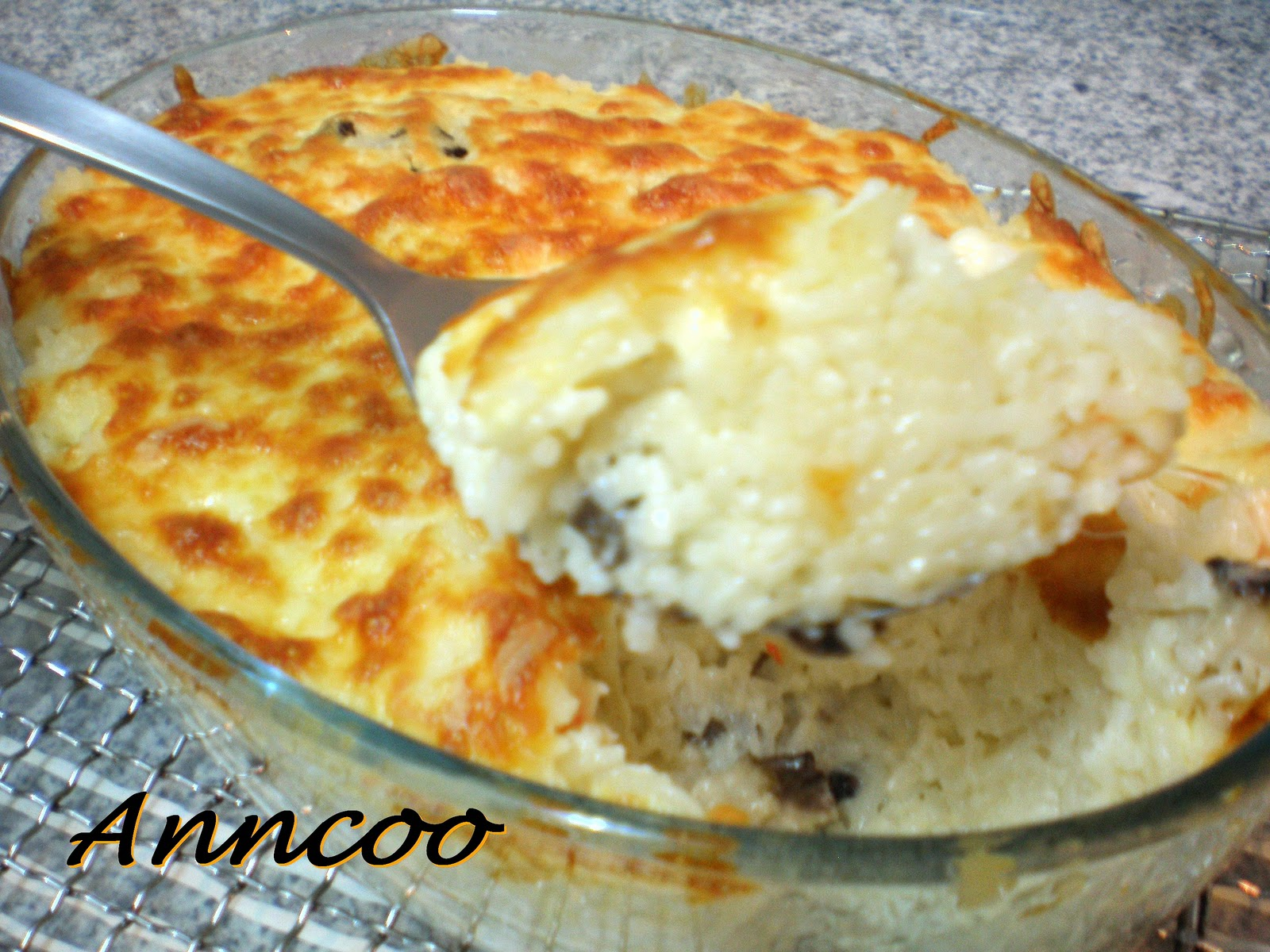 Seafood baked rice anncoo journal for Baked fish and rice