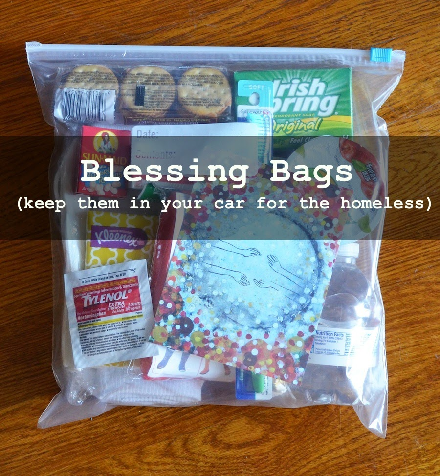 Here S What I Included In My Blessing Bags