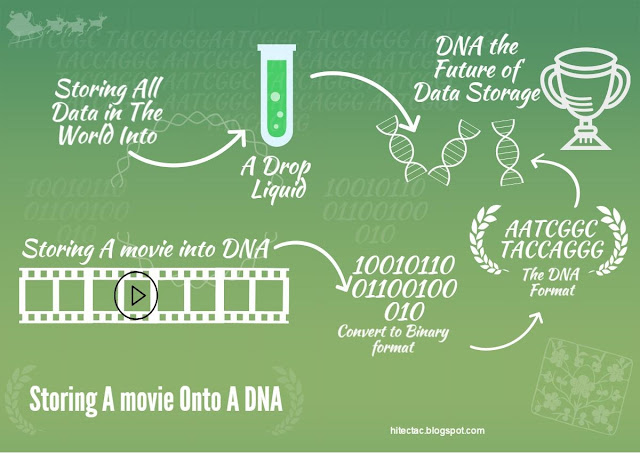 Storing a movie to DNA