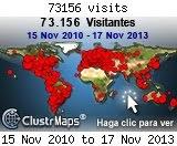 Visitantes al 17-Nov 2013