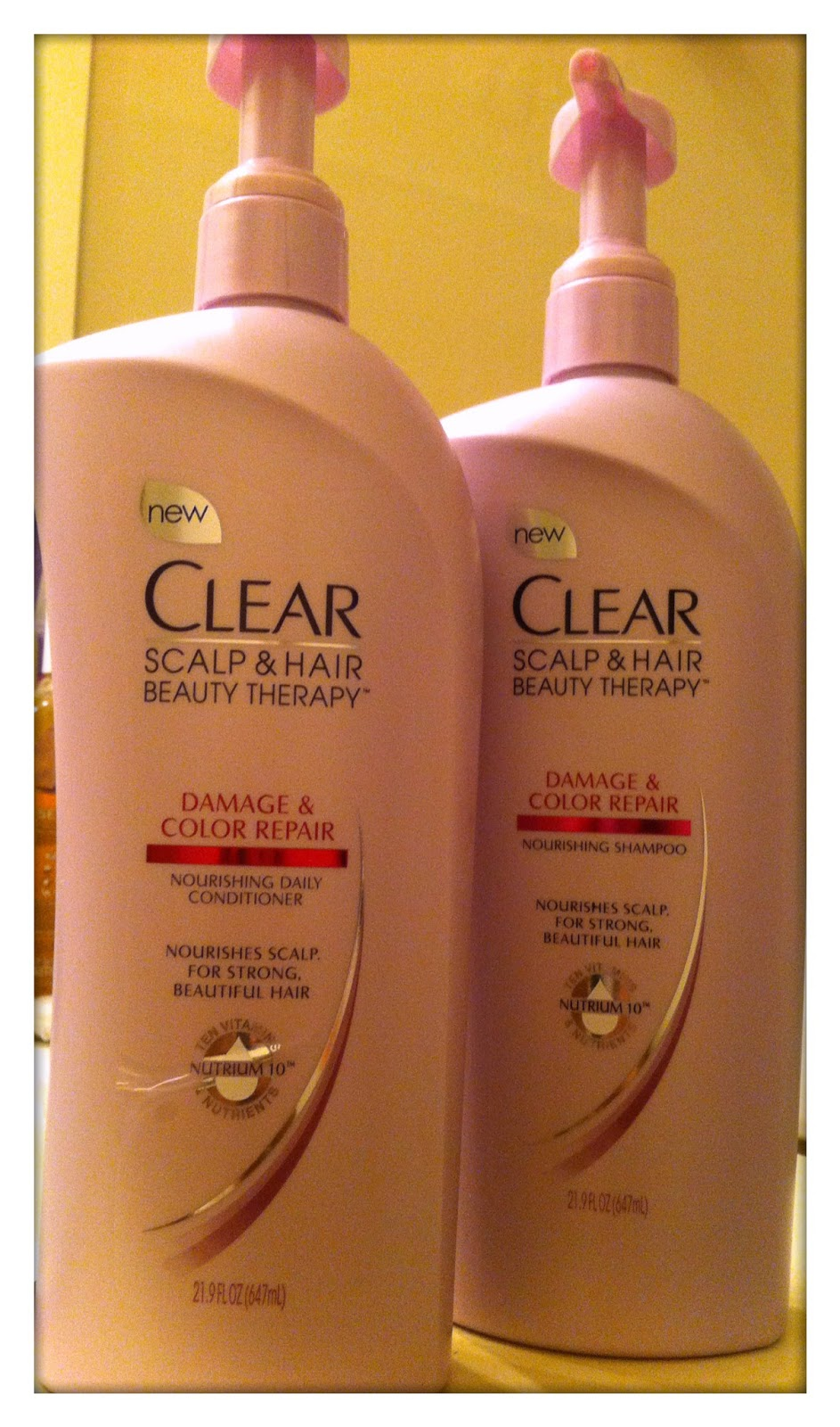 New Shampoo Review Clear Scalp And Therapy Clear Damage Color