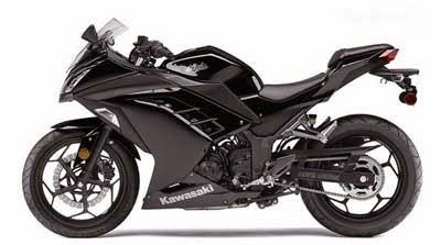 Kawasaki Ninja 300 Black