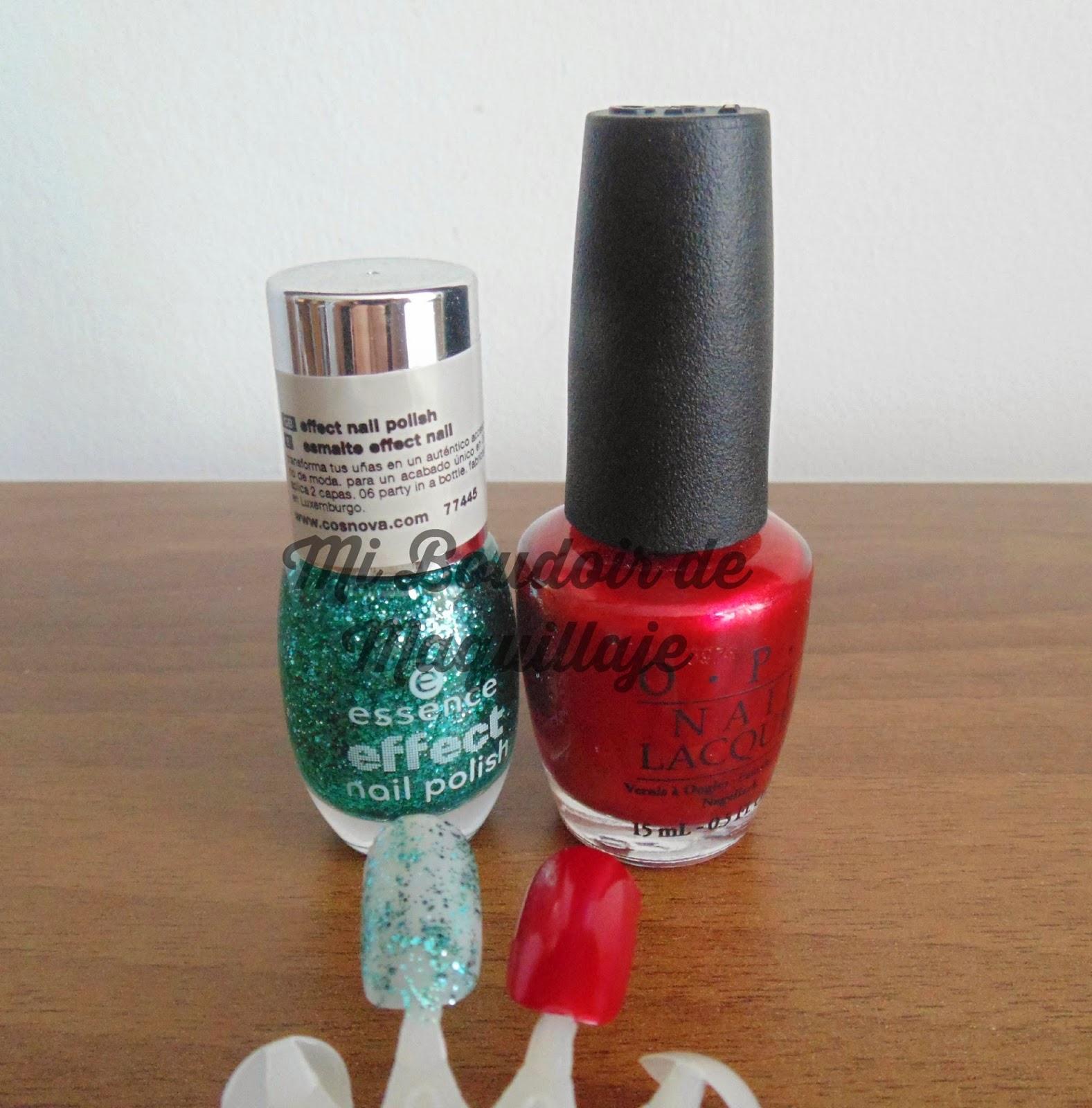 Opi y essence lacas de uñas