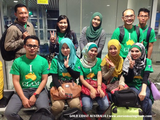 Awesomazing Team di KLIA