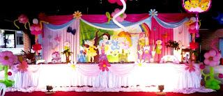 Fiestas Infantiles Princesas Bebes, parte 2