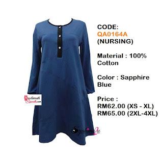T-Shirt-Muslimah-Qaseh-QA0164A