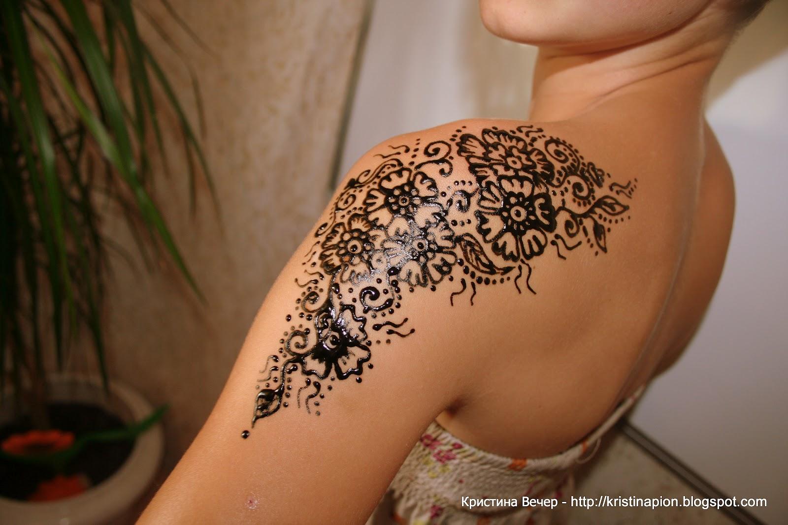 Как делать тату хной в домашних условиях Persian Shop