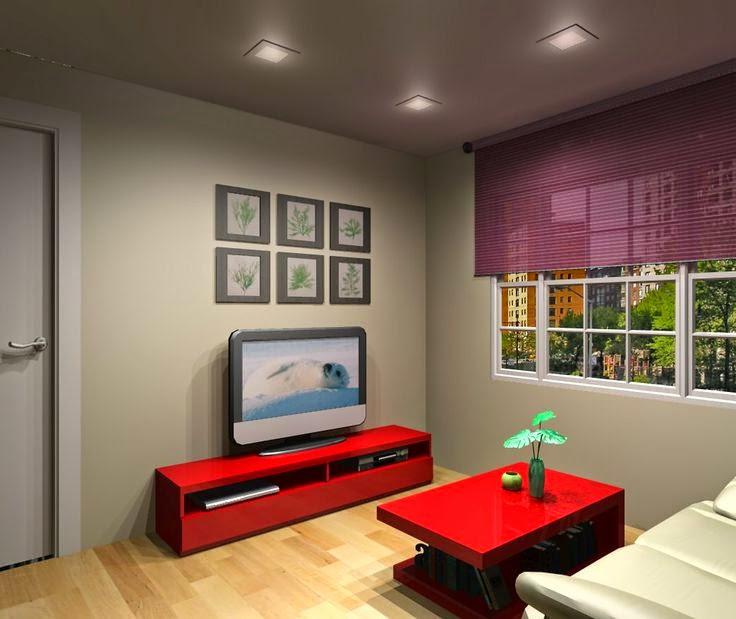 Salones modernos peque os Salones modernos y pequenos