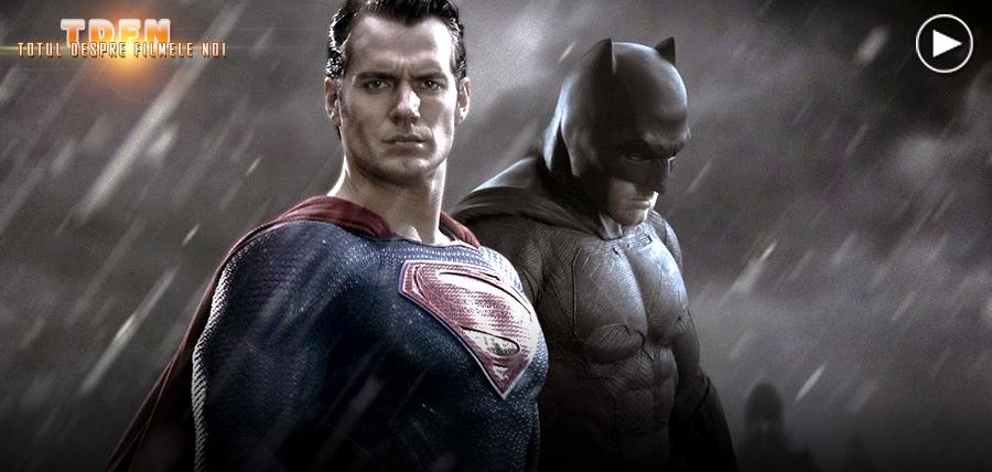 Vezi primele imagini din Batman V Superman: Dawn Of Justice în primul teaser trailer al anticipatei continuări