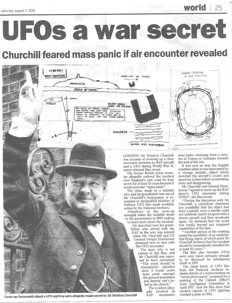ผลการค้นหารูปภาพสำหรับ winston churchill and ufos