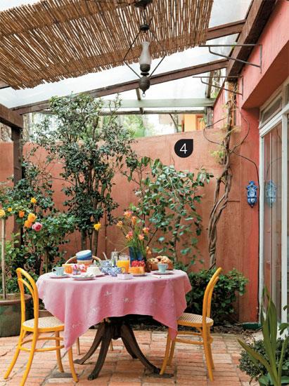 Querido ref gio blog de decora o um jardim caipira e for Paredes decoradas rusticas