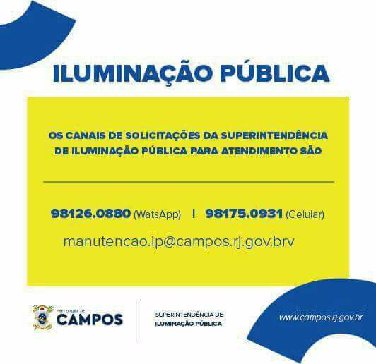 Superintendência de Iluminação Pública de Campos dos Goytacazes