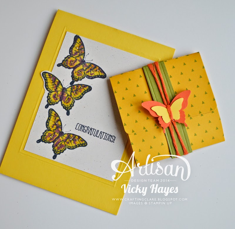 butterfly stamps with matching punches, Papillon Potpourri by Stampin' Up