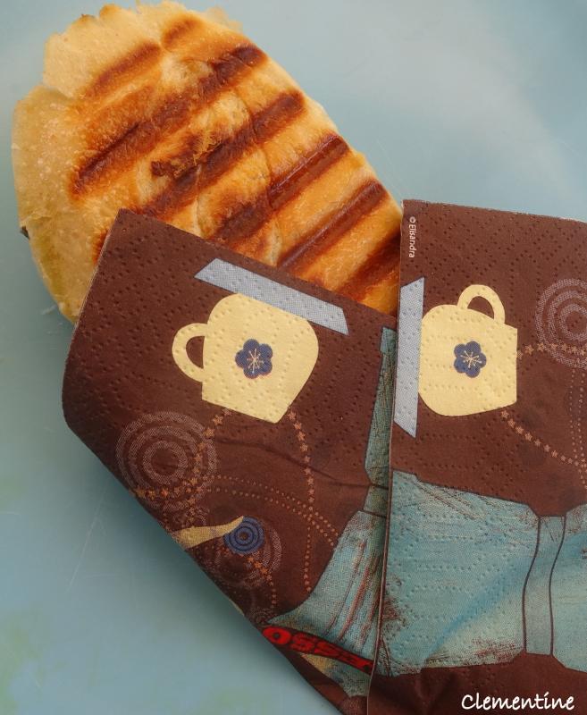 Le blog de clementine panini aux 3 fromages - La maison du panini ...
