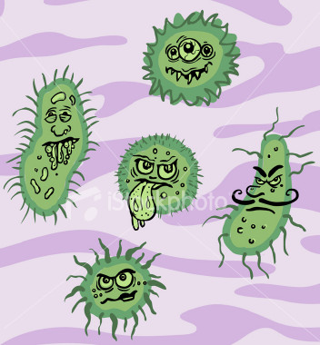 Germs viruses bacteria these seem kinda retro don t they in these days