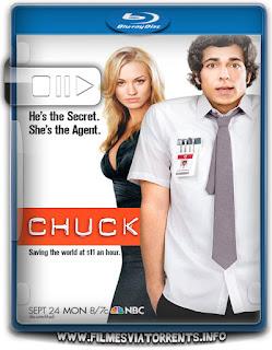 Chuck 1ª Temporada Torrent - BluRay Rip 720p Dublado
