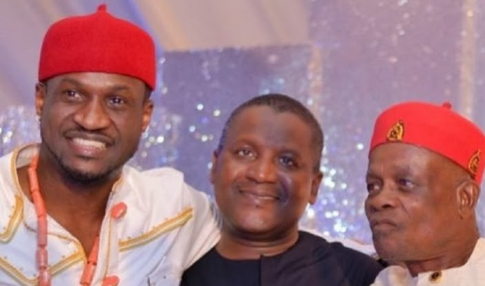 peter okoye dad aliko dangote