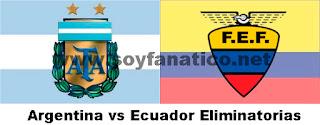 Argentina vs Ecuador Eliminatorias Brasil 2014