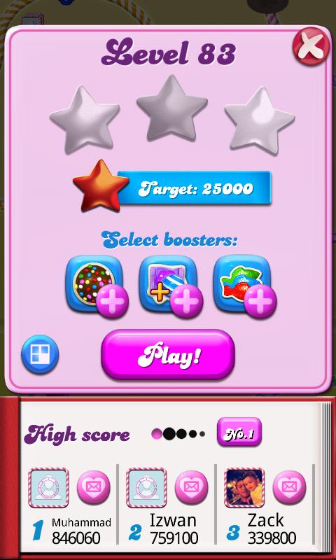 level candy crush