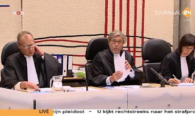 Judges in Wilders Trial - Marcel van Oosten
