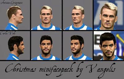 PES 2014 CHRISTMAS Minifacepack by Vangelis