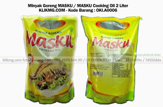 Minyak Goreng MASKU / MASKU Cooking Oil 2 Liter - Kode Barang : OKI.A0006