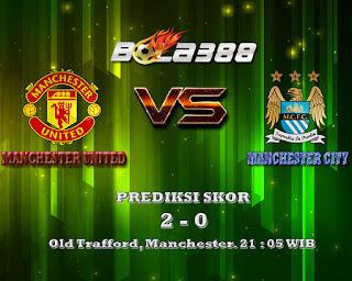 Agen Sbobet Terpercaya:Prediksi Skor Manchester United Vs Manchester City 25 Oktober 2015