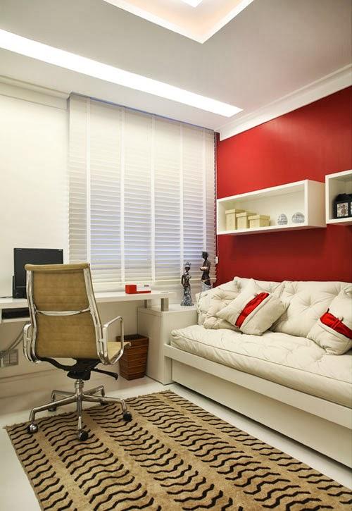 Allan Feio ? Arquitetura Transforme o quarto extra em  ~ Transformar Home Office Em Quarto De Bebe