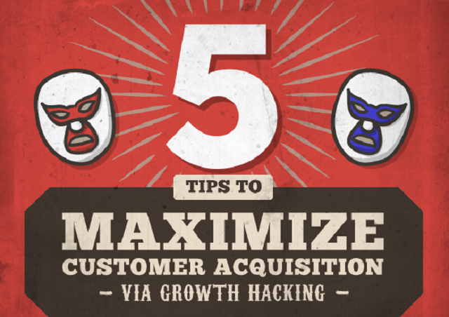 5 Ways To Maximize Customer Acquisition Via Growth Hacking - #infographic