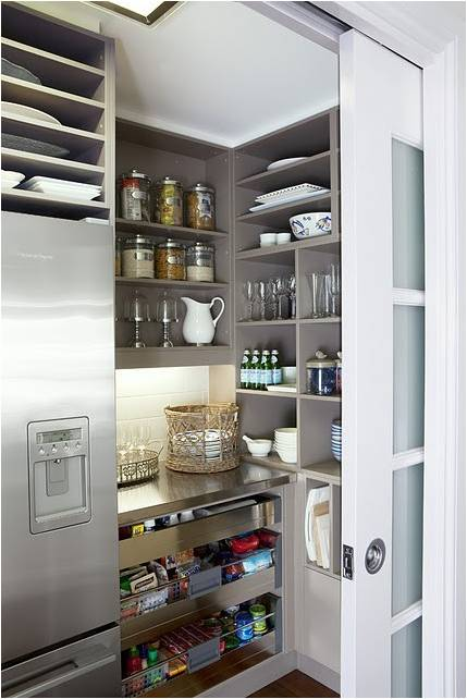 I desire a butler 39 s pantry decor interior design for Modern kitchen pantry