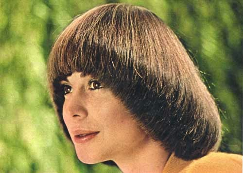 Mod and Mint: Vintage Spring Hair Styles from the 1970s - Pageboy bob style cut