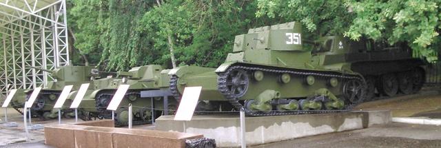 Pequeños tanques rusos ligeros