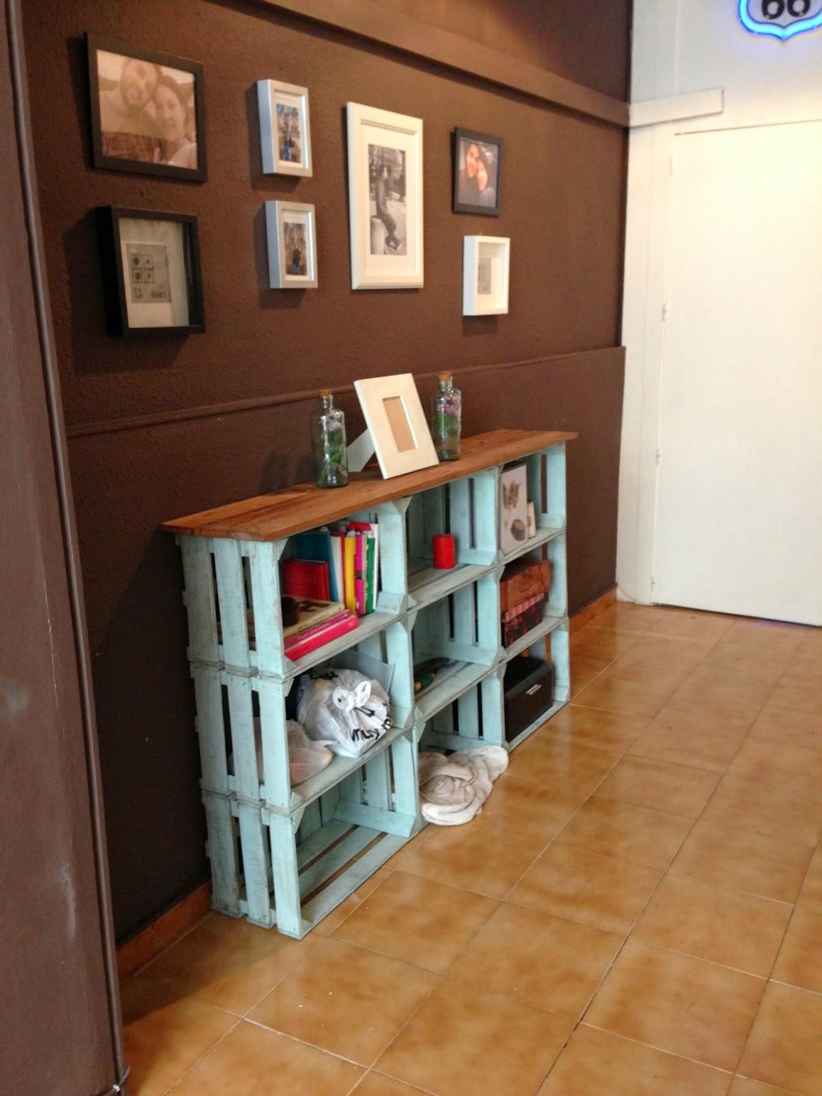 Ante todo con arte y paciencia 6 cajas de fruta - Cajas de fruta de madera para decorar ...