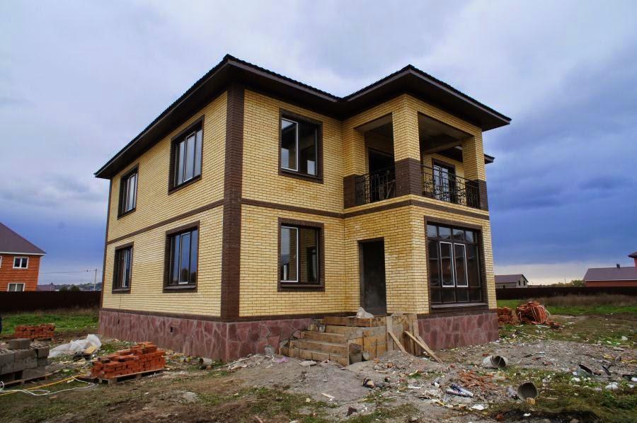 Строительство загородного деревянного дома в Уфе