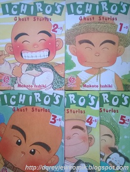 Review Komik Ichiro S Ghost Stories