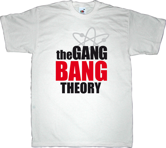 The Big Bang Theory tv show adult entertainment fun t-shirt ephemeral-t-shirts